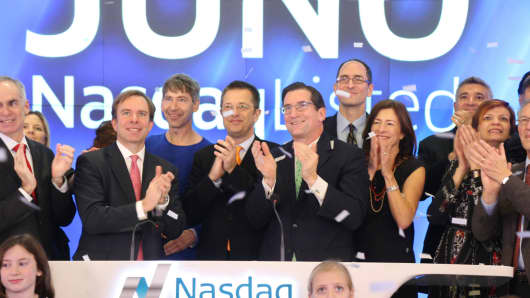 Juno Therapeutics IPO at Nasdaq
