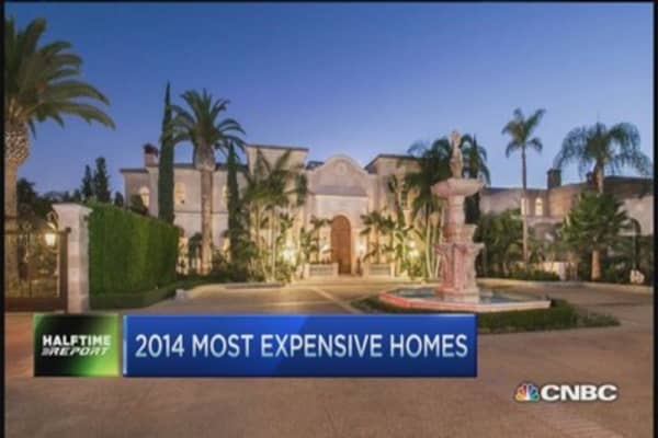 2014's most expensive homes...