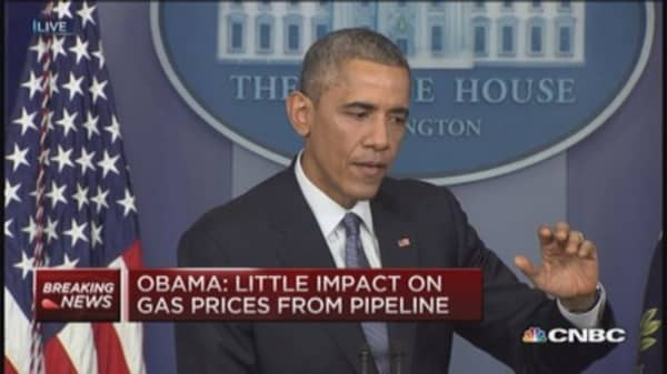 President Obama: Keystone great for Canada