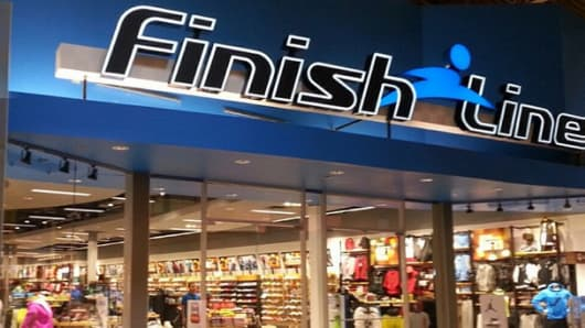 A Finish Line store in Katy, Texas.