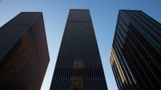 Corporate New York skyline