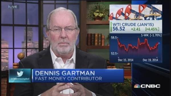 Like to think crude has stabilized: Gartman