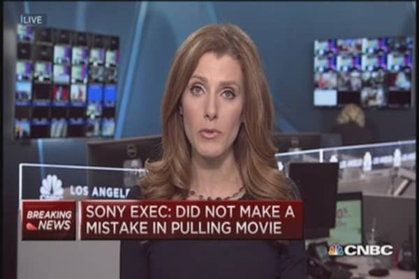Sony responds to President's 'mistake' comment