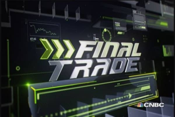 Fast Money Final Trade: FM, CVX, HYG, SAVE