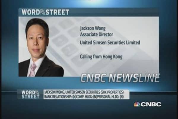 Sun Hung Kai shares rise as graft trial ends