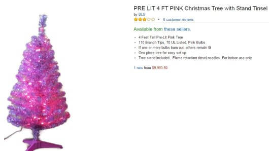 the 999350 artificial christmas tree for sale on amazoncom - Amazon Artificial Christmas Trees
