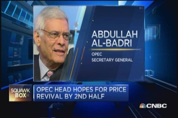 OPEC head hopes for price revival by 2nd half