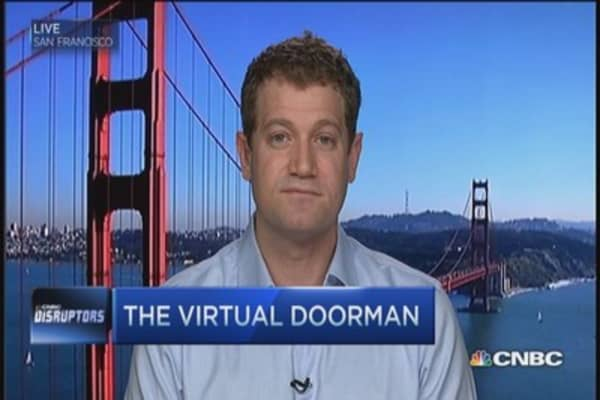 The virtual doorman