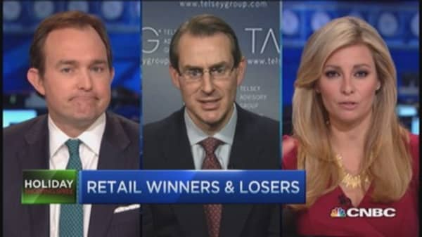 Holiday retail winners and losers