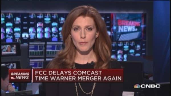 FCC delays Comcast-Time Warner merger again