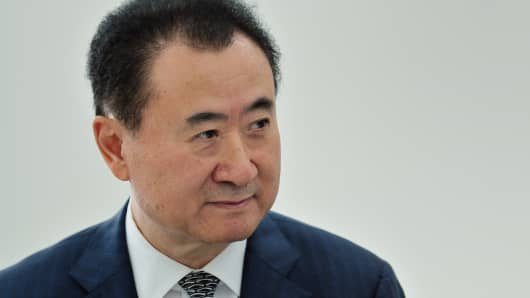 Wang Jianlin, Chairman of the Dalian Wanda Group, speaks during a session at the World Economic Forum Annual Meeting of the New Champions on September 11, 2013.