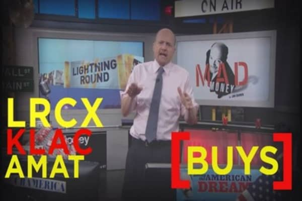 Cramer: This sector is on fire