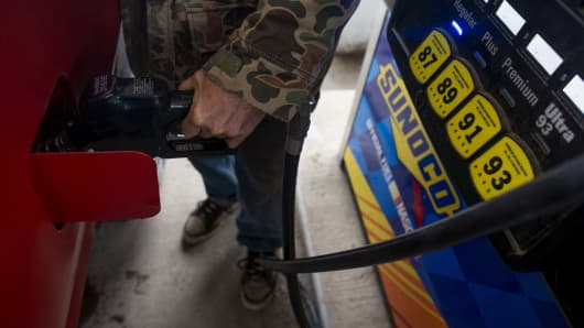gas prices crude oil