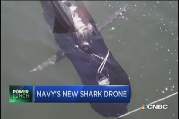 Navy's newest shark drone