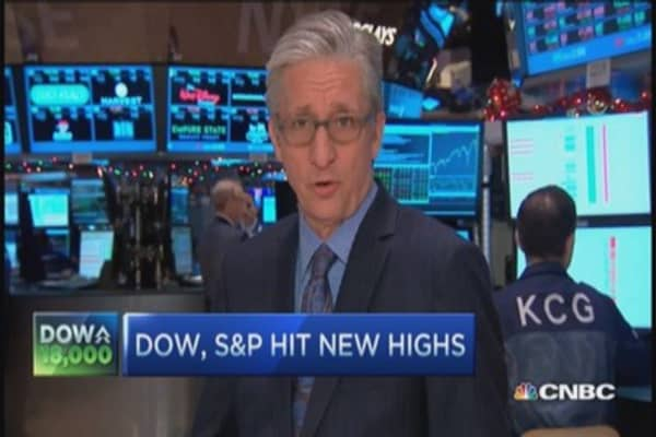 Pisani: Short road to Dow 18,000