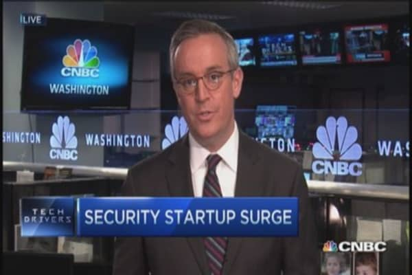 Security startups surge