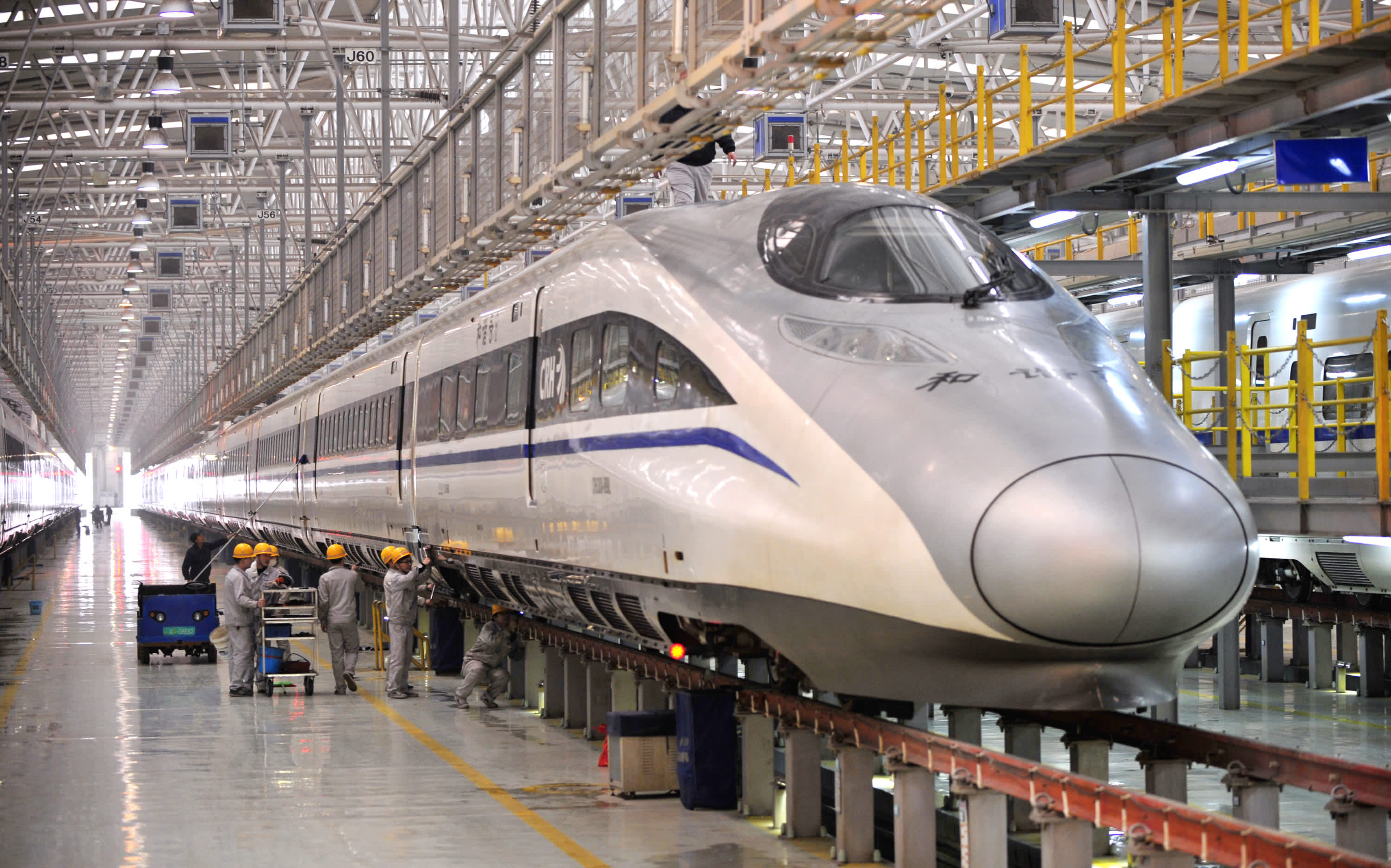 Chinese Firms To Build Highspeed Rail In The US - Us railway system map