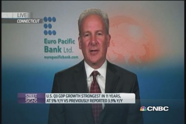 Strong growth in the US won't last, says this expert