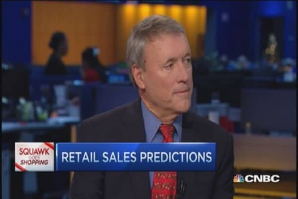 Retail sector will surprise to the upside: Eyler