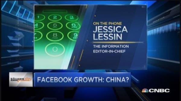 Facebook blazes China trail