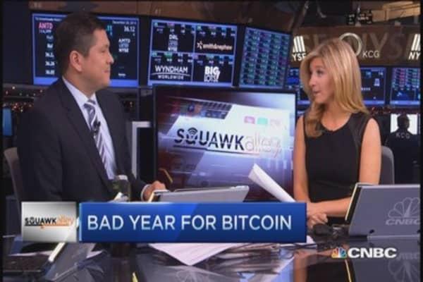 Bad year for bitcoin
