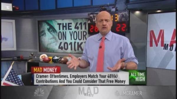 Cramer: 401(k) or IRA?