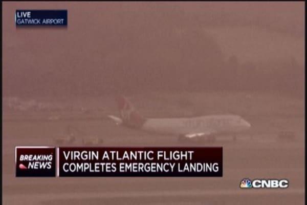 Virgin Atlantic flight completes emergency landing