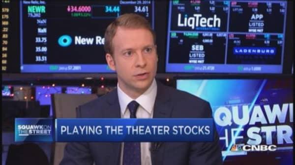 Making money on movie stocks