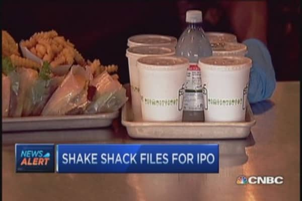 Shake Shack files $100 million IPO