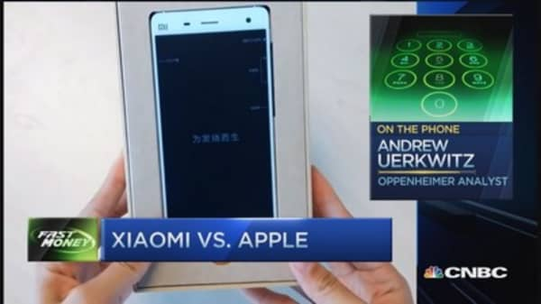 Xiaomi threat to Apple?