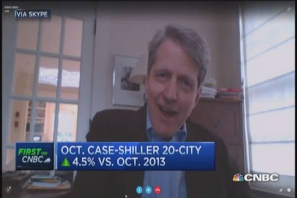 Robert Shiller: Housing market fragile