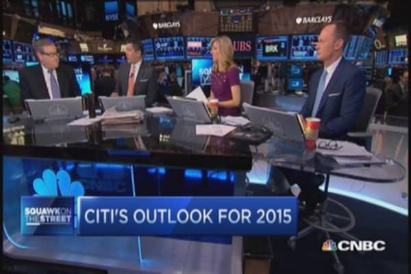 Citi's outlook for 2015