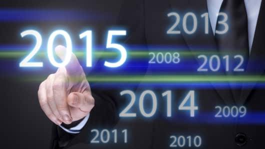 2015 financial concept