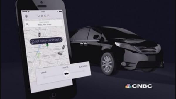 Uber 'hails' New Year's big night