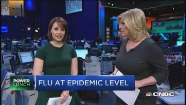 CDC warns on flu epidemic