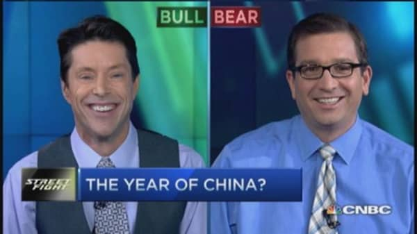 The year of China?