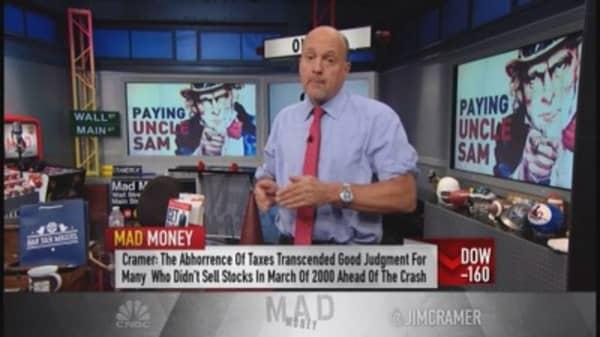 Cramer: Taxes don't trump fundamentals