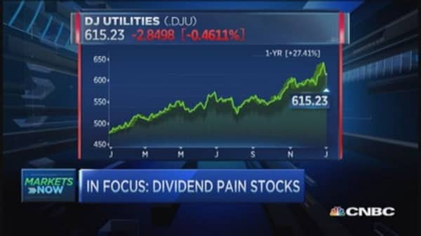 Trouble in dividend city