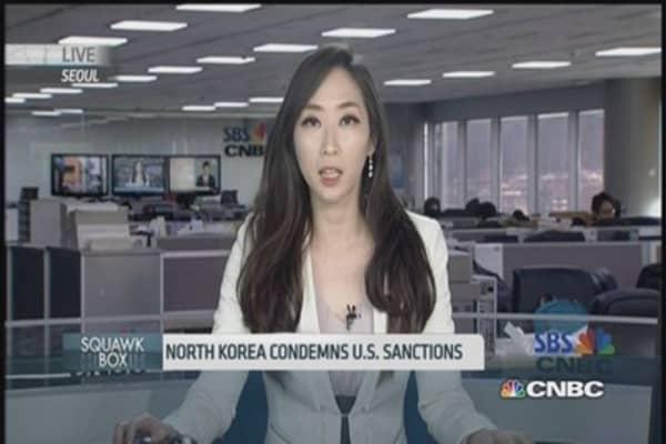 North Korea condemns new US sanctions