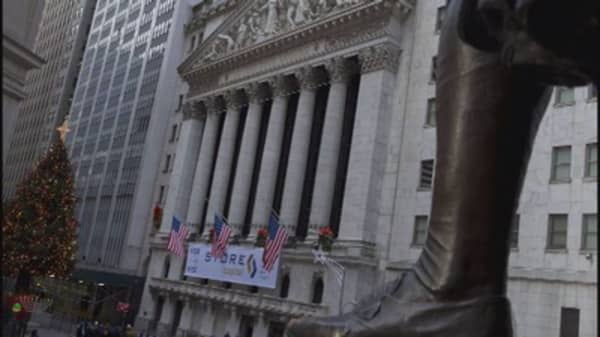 After record peaks, stock market cautious in 2015