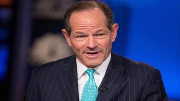 Former Wall Street sheriff Spitzer on insider trading