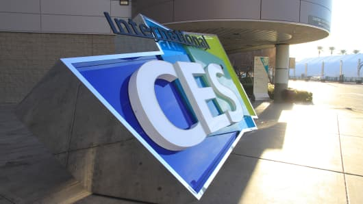 The International CES show in Las Vegas on Jan. 5, 2015.