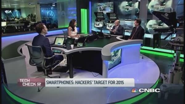 Smartphones: Hackers choice for 2015
