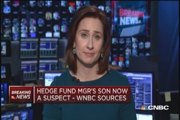 Hedge fund manager's son a suspect: Sources