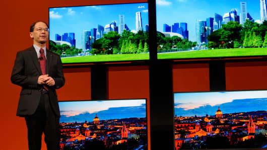 Sharp television sets