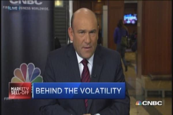Behind the volatility