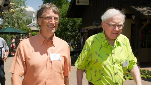 Bill Gates and Warren Buffett