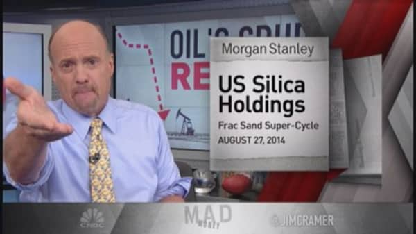 Why Cramer isn't smitten with oil stocks