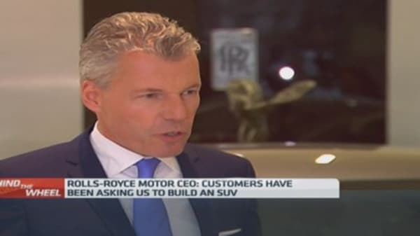 Rolls-Royce CEO: 'Watch this space'
