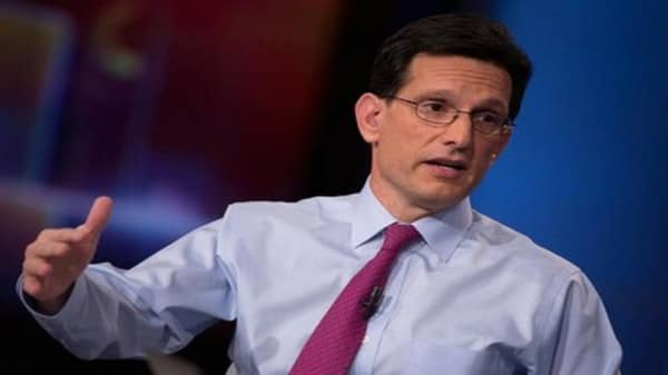 Eric Cantor's agenda for a new Congress